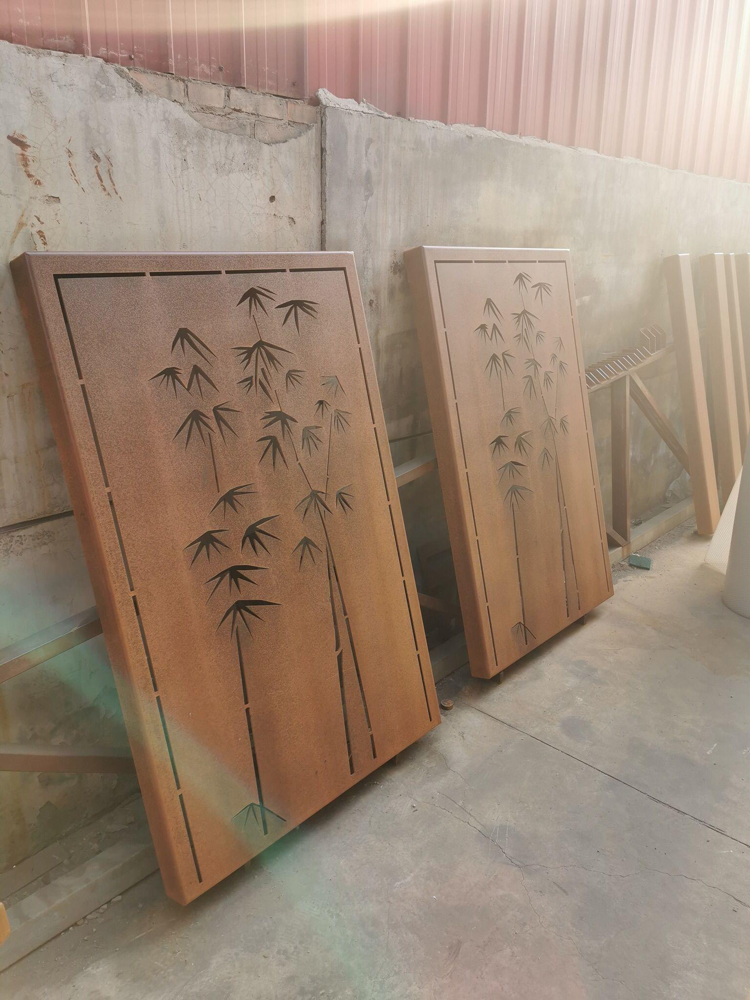 东洲锈板幕墙