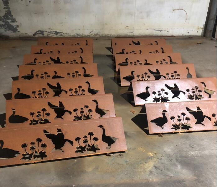 新抚耐候锈钢板种植池
